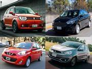 Los 10 autos más baratos en México para 2018