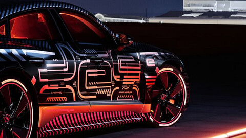 Audi e-tron GT comienza a alistarse para su debut