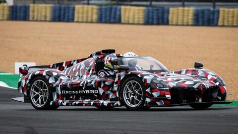 Toyota muestra el auto con el que correrá los futuros Le Mans