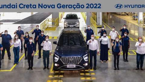 Nuevo Hyundai Creta, que vendría a Argentina, ya se produce en Brasil