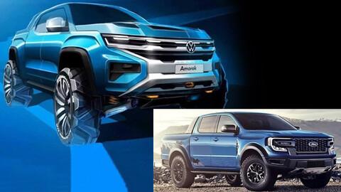 ¿Se viene la Volkswagen Amarok R V6 con capacidades de Ranger Raptor?