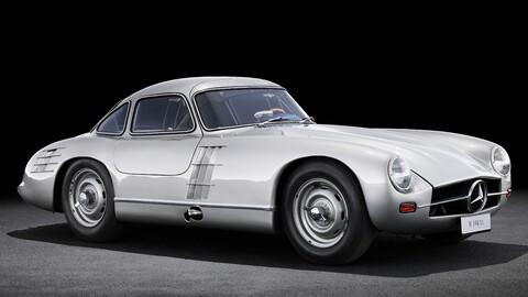 La historia del Mercedes-Benz SL, un auto que nació triunfando en las pistas