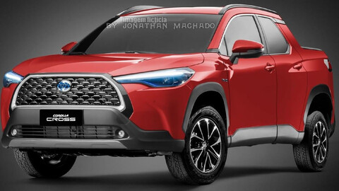 ¿Toyota trabaja en una pick-up basada en el Corolla Cross?