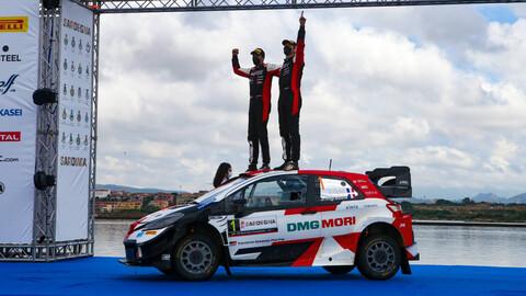 WRC 2021: Ogier aprovecha todos los regalos