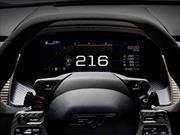 Conoce en video el espectacular cuadro de instrumentos del Ford GT 2017