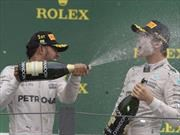 F1 GP de Brasil, Hamilton gana, Rosberg se acerca al Campeonato