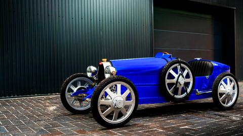 El Bugatti para niños va a producción