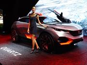 Peugeot Quartz Concept, crossover total
