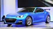 Subaru BRZ Concept STI: Debuta oficialmente
