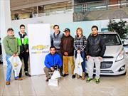 Chevrolet premió a ocho ganadores con un Spark GT 0 km.