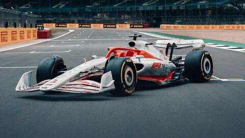 F1 2022: El primer auto ya es una realidad