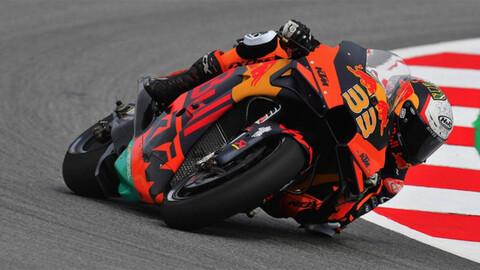 MotoGP 2021: la lluvia desordenó todo en Austria