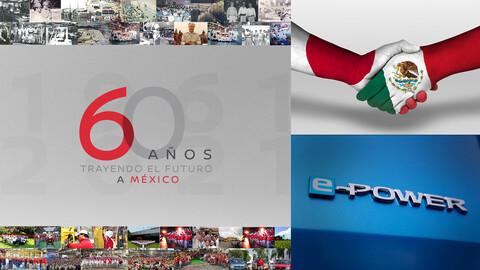 Nissan cumple 60 años en México y lo celebra presentando la tecnología e-POWER