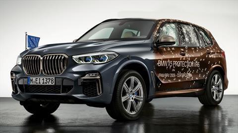 BMW X5 Protection VR6 es una SUV blindada a prueba de balas y explosivos