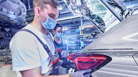 Audi inicia la producción del Q4 e-tron en Alemania