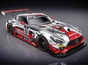 Este Mercedes-AMG GT3 fue diseñado por Linkin Park