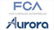 FCA y Aurora, alianza para desarrollar vehículos autónomos