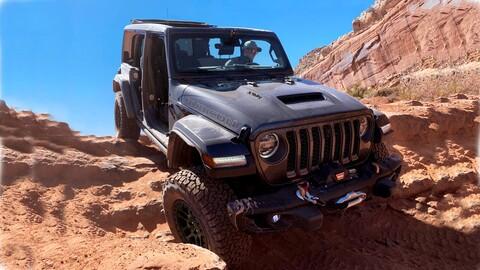Jeep Wrangler Xtreme Recon Package, preparada para el off-road intenso