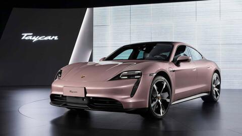 La versión de acceso al Porsche Taycan ofrece hasta 489 km de autonomía