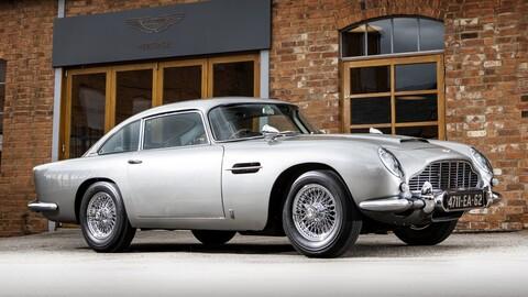 Encuentran Aston Martin DB5 de la película Goldfinger perdido hace más de 20 años