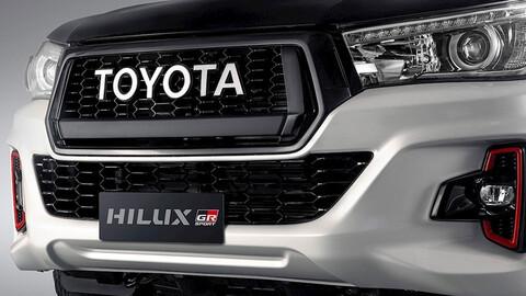 Casi lista la Toyota Hilux GR Sport 2022