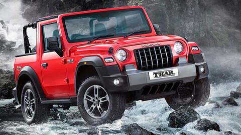 Mahindra Thar 2021, el Jeep Wrangler de la India