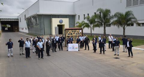 Volkswagen Argentina comienza a exportar la transmisión MQ281 a India