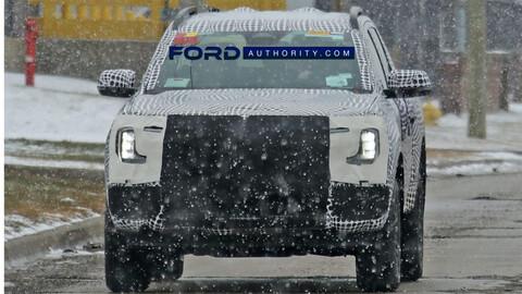 Ford prepara la nueva Ranger Híbrida enchufable