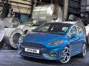 Ford Fiesta ST 2018 ofrece 200 hp desde un tres cilindros
