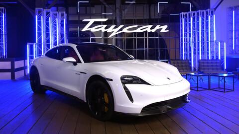 Porsche Taycan llega a México, un eléctrico muy rápido y tecnificado