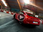 Video: Un Porsche Cayman GTS derrapando en una pista de karting