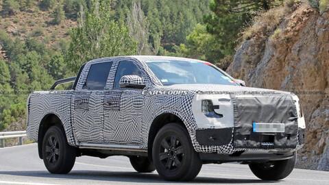 Ford ya está probando la nueva Ranger plug-in hybrid