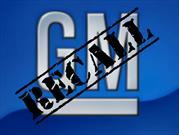 Recall de General Motors a 1,400,000 vehículos