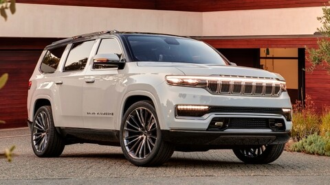 Jeep Grand Wagoneer Concept debuta