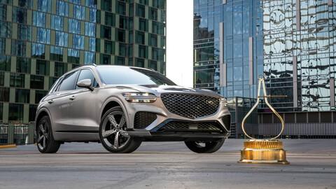 Genesis GV70 es nombrada SUV del año por MotorTrend
