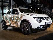 Nissan Juke es tatuado en París