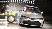 Toyota Corolla consigue 5 estrellas en pruebas de choque de LatinNCAP