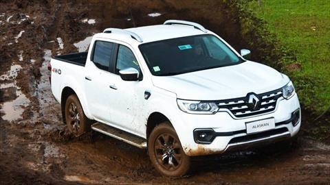 Además de México, Renault también producirá la pick up Alaskan en Argentina
