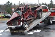 Los accidentes mortales sólo involucran un vehículo