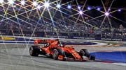 F1 2019: apareció Vettel en Singapur