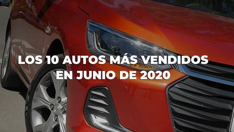 Los 10 autos más vendidos en Argentina en junio de 2020
