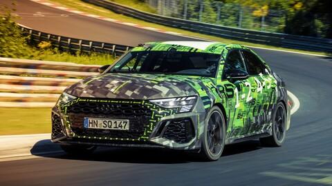 Audi RS 3 Sedan rompe el récord del auto compacto más rápido en Nürburgring