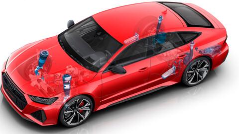 Audi muestra avances en los sistemas de suspensión