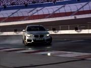 Video: un BMW autónomo haciendo drift