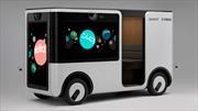 Yamaha Sony SC-1 vehículo autónomo para publicidad rodante