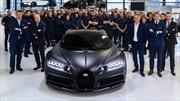Bugatti llega a las 250 unidades producidas del Chiron