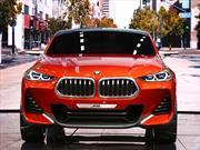 BMW X2 Concept se exhibe en París