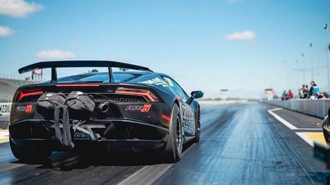 ¿Te imaginás correr una picada con un Lamborghini?