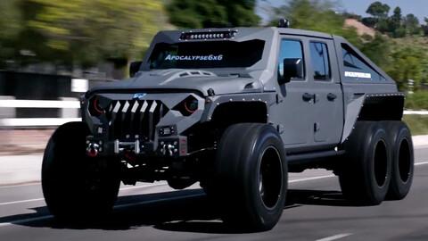 ¿Querés un vehículo para el apocalipsis? Comprate este Hellfire 6x6
