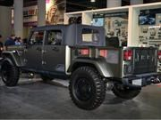 Jeep Wrangler nombrado el Hottest 4x4 SUV del SEMA Show 2016